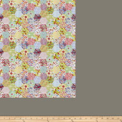 Fabricut Picnic Patchwork Summer Fabric