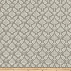 French General Pondicherry Grey Fabric