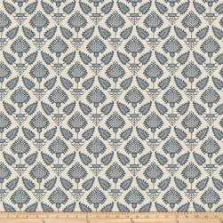 French General Pondicherry Indigo Fabric