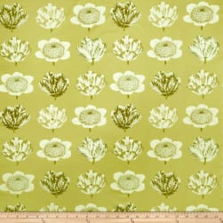 Fabricut Pop Floral Green Tea Fabric