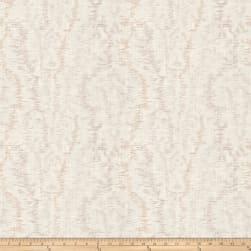 French General Provincial Moire Linen Blend Bisque