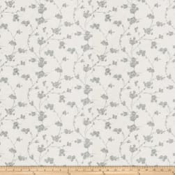 Fabricut Reeves Floral Silk Porcelain Fabric