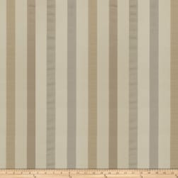 Fabricut Reid Stripe Silk Granite Fabric