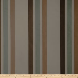 Fabricut Ridge Stripe Faux Silk Lagoon Fabric