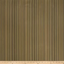 Fabricut Rozan Stripe Jacquard Coffee Fabric