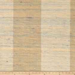 Fabricut Shalini Stripe Silk Palm Fabric