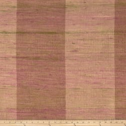 Fabricut Shalini Stripe Silk Plum Wood Fabric