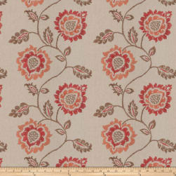 French General Sovereign Sienna Fabric