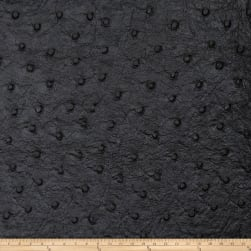 Fabricut Tellurium Faux Leather Onyx Fabric