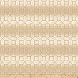 Fabricut Tempranillo Faux Silk Cream Fabric