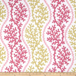 Fabricut Thetis Coral Pink Coral Fabric