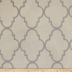 Fabricut Toby Lattice Linen Blend Crystal Fabric