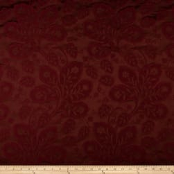 Ritz Paris Trianon Damask Jacquard Bordeaux Fabric