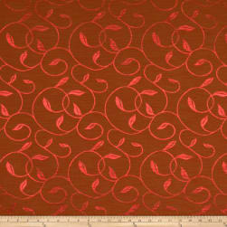 Fabricut Vina Faux Silk Redwood Fabric