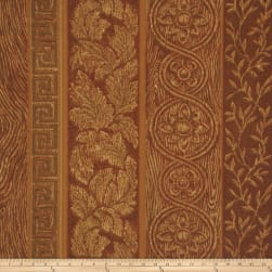 Mount Vernon Wood Grain Golden Oak Fabric