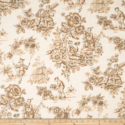 Jaclyn Smith 1827 Caramel Fabric