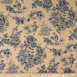 Jaclyn Smith 1827 Indigo Fabric
