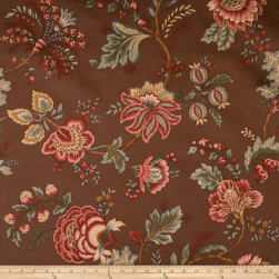 Jaclyn Smith 1830 Coffee Fabric