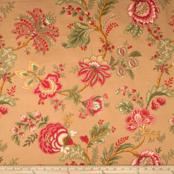 Jaclyn Smith 1830 Sangria Fabric