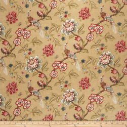 Jaclyn Smith 1832 Crimson Fabric