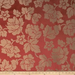 Jaclyn Smith 1860 Jacquard Crimson Fabric