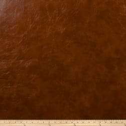 Jaclyn Smith 1862 Faux Leather Cognac Fabric