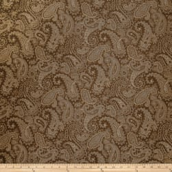 Trend 1945 Faux Silk Chocolate Fabric