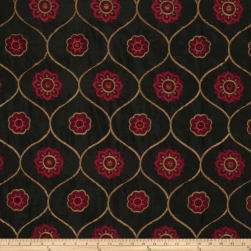 Jaclyn Smith 2096 Faux Silk Berry Fabric