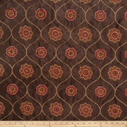 Jaclyn Smith 2096 Faux Silk Spice Fabric