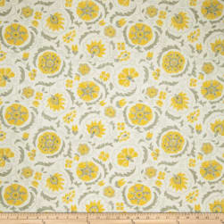 Jaclyn Smith 2097 Lemon Zest Fabric