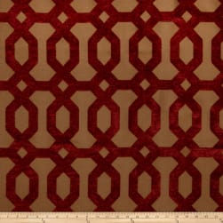 Jaclyn Smith 2103 Chenille Berry Fabric