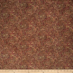 Jaclyn Smith 2126 Brick Fabric
