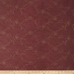 Trend 2665 Faux Silk Burgundy Fabric
