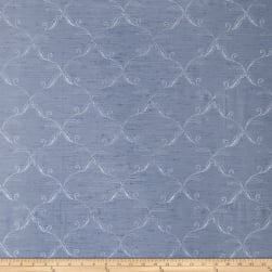Trend 2666 Faux Silk Blue Fabric