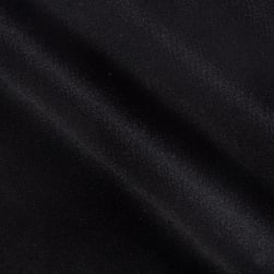 Mesh Pique Knit Black Fabric