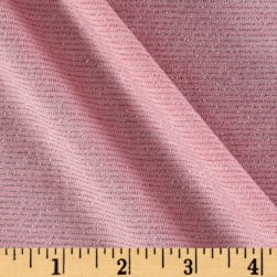 Jersey Knit Stripe Pink/Silver Fabric