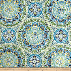 Bryant Indoor/Outdoor Delancey Lagoon Fabric