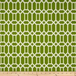 Bryant Indoor/Outdoor Rhodes Trellis Grass Green Fabric