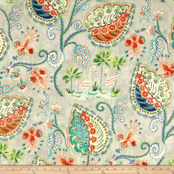 Dena Designs Flamingo Frolic Poolside Fabric
