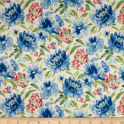Waverly Spring Forth Bluebell Fabric