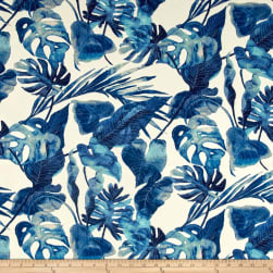 Tommy Bahama Indoor/Outdoor Inky Palms Indigo Fabric