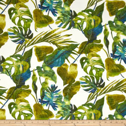 Tommy Bahama Indoor/Outdoor Inky Palms Jade Fabric