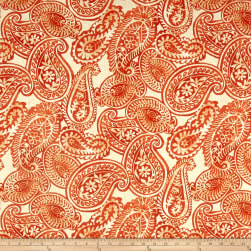 Tommy Bahama Indoor/Outdoor Summery Spin Tiger Lily Fabric