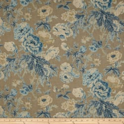 Waverly Among the Roses Bluebell Fabric
