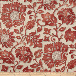 Waverly Imaginary Coral Fabric