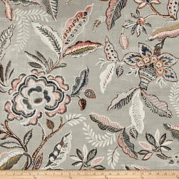 Waverly Key of Life Twill Blush Fabric