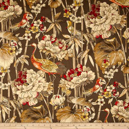Waverly Peace Garden Sateen Cordial Fabric