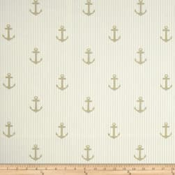 Covington Indoor/Outdoor Anchors Linen Fabric