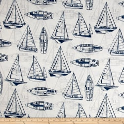 Covington Indoor/Outdoor Rum Runner Navy Fabric