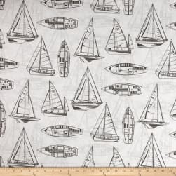 Covington Indoor/Outdoor Rum Runner Graphite Fabric